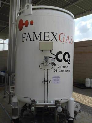 Tanque Criogênico para CO2 Líquido